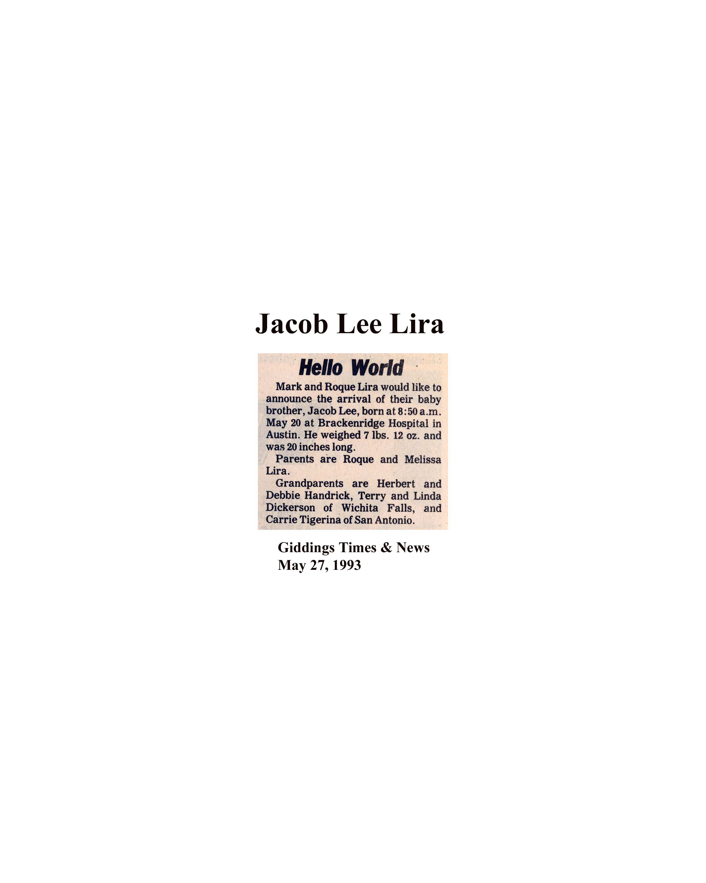 Birth Surnames Beginning With Letter L: Lee County/Central Texas